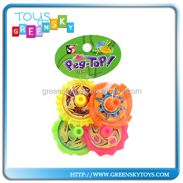 super plastic peg top spinning top