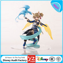 Figma Funny Knights Sword Art Online ALO Character Silica Action Figure PVC Model Collection Figurine