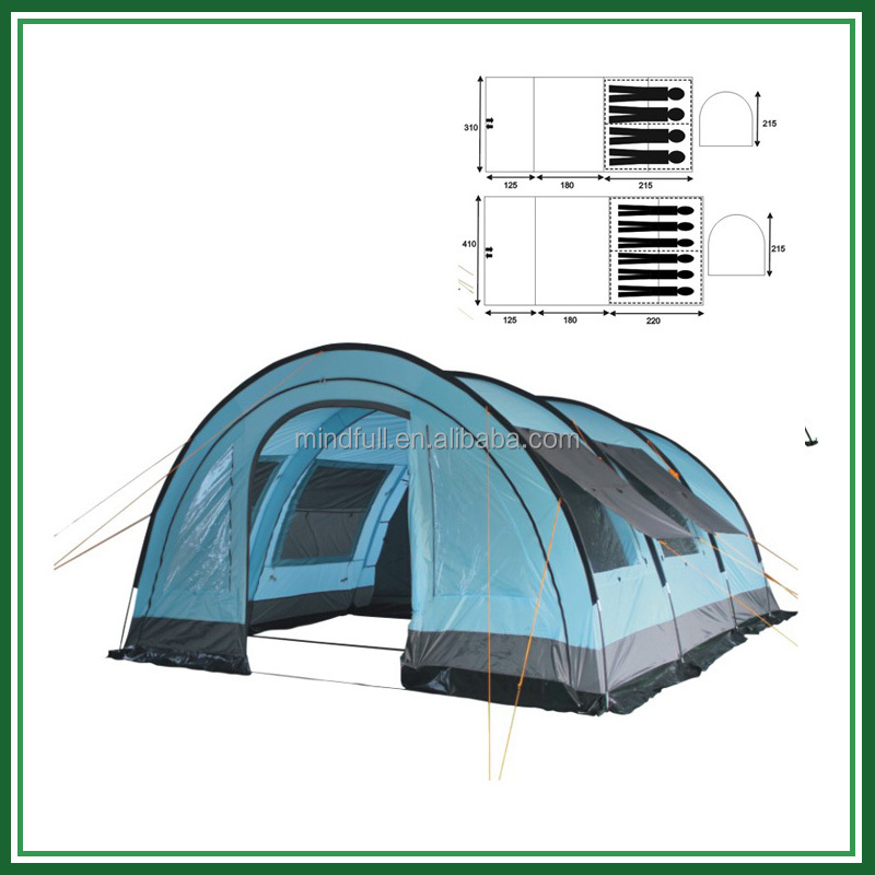 Wholesale Outdoor tunnel camping tent