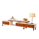 Living Room Red Oak HDF Modern Design TV Cabinet/TV Kabinet