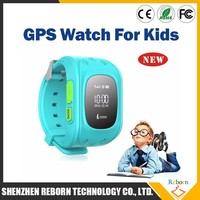 Fashionable Child Smart Watch With SOS Call And GPS Tracking Function
