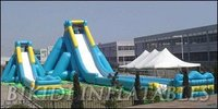 LARGE SLIDE INFLATABLE BUSINESS B4039 www bikidi com