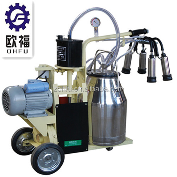 high quality portable cow milker /Cattle milking machine for sale