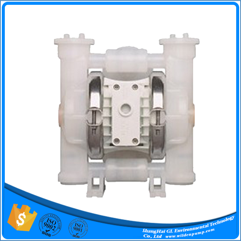 Diaphram pump double airless paint sprayer sewage stainless steel for liquids