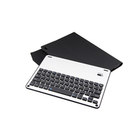 Ultra Thin Folio Cover with Removable Aluminum Keyboard for iPad Pro 10.5'' Leather Case With Wireless Keyboard