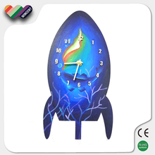 Able to Paint Wooden DIY Clock Kit for Kids