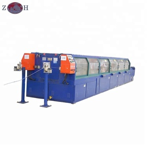 Horizontal paper taping machine for copper strip