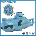 2015 HOT SALE 6CH mini RC model Submarine toy with EN71