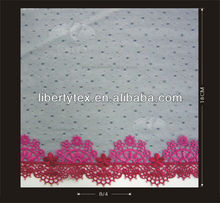POLYESTER EMBROIDERY DOT TULLE LACE