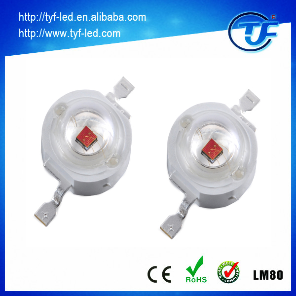 Promotion 600nm 630nm 660nm 5mm led diode 1.8-2.2V