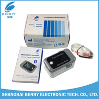 CE FCC Approved OLED screen bluetooth finger pulse meter for android