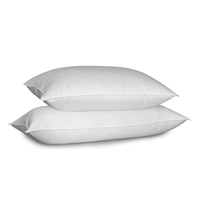 white comfortable durable airline or hotel bedding cushion pillow/ hospital nursing sleeping pillow