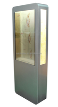 transparent lcd screen marketing advertising shopping display for video showing