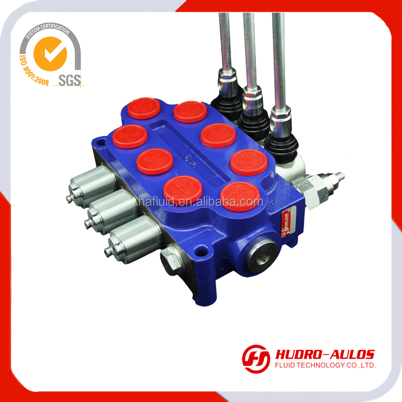 P40 hydraulic monoblock directional control 2 way ball G3/8 float valve