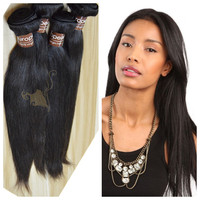 No tangle no shedding hair extensions top quality 100 european remy virgin human hair weft