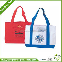 High quality foldable promotional polyester bag for shopping