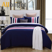 ALLBRIGHT organic cotton patchwork bedsheets; lightweight bedding for summer