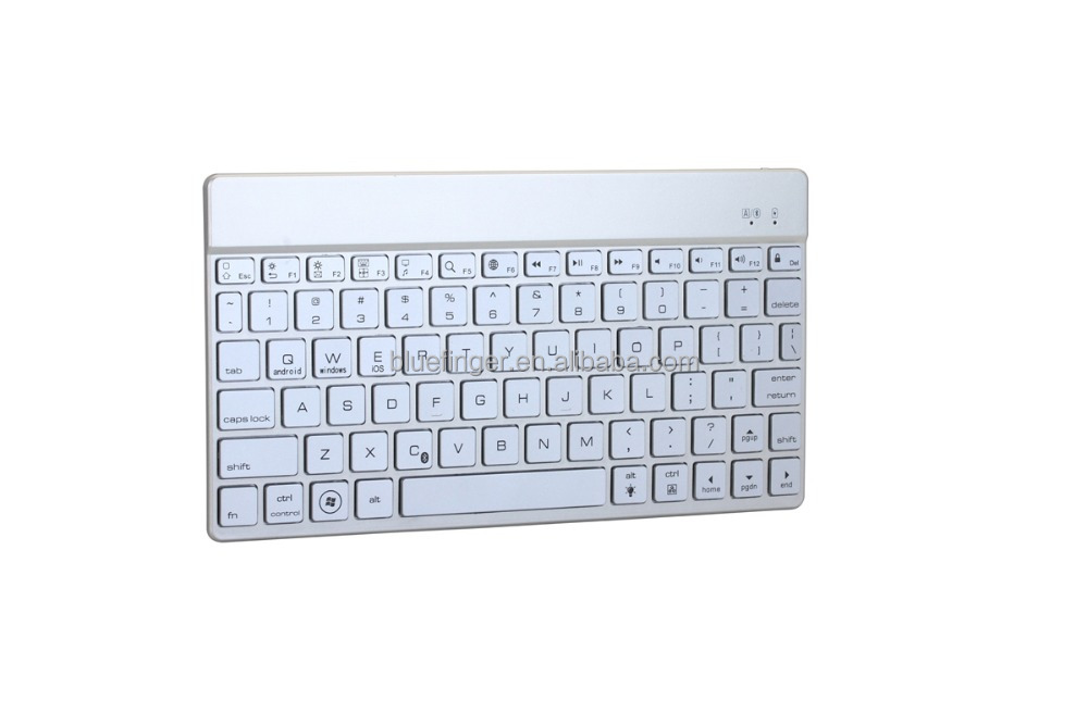 Ultra-Slim Universal Bluetooth Keyboard For IOS/Android/Windows (White)