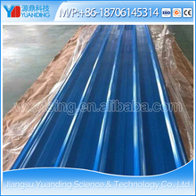 YD-0245 High quality Pre painted galvanized steel corrugated roofing sheet/ PPGI steel roofing sheet