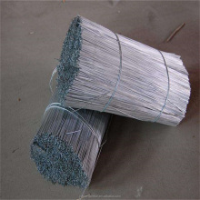 Galvanized Straighten Wire/Cutting Wire Galvanized/GI CutWirefor iron pipe welding