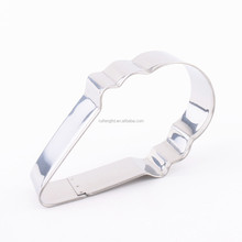Factory custom shapes stainless steel cookie cutter letter christmas tree shape cookie cutter animal shaped cookie cutters metal