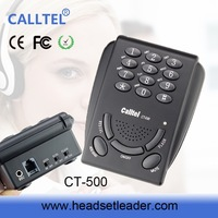 OEM factory call center corded telephone dialing pad lephone call with recorder data wire