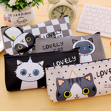 Unusual Cartoon Animal Print Pencil Case for Student