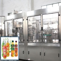 Automatic juice beverage making machine / production line