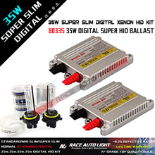 Factory DC AC Digital Slim Normal HID Xenon Kit 12V 35W 6000K H7