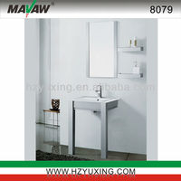 Modern stainless steel small bathroom vanity/furniture/cabinet idea MA-8079
