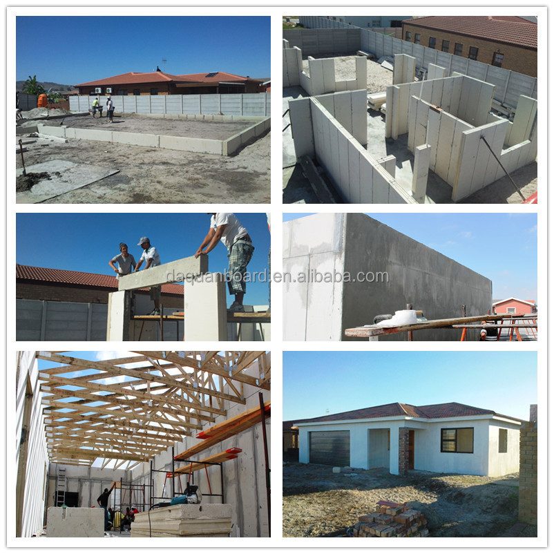 2015 dq eps sandwich panel hip roof prefab home with floor - Sandwich panel homes ...
