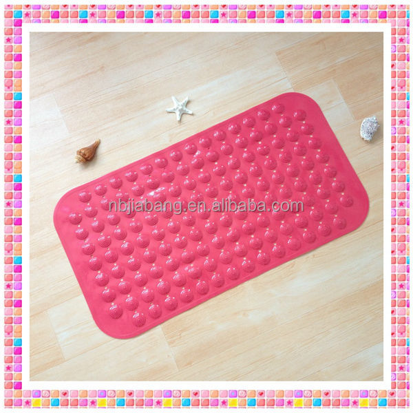 PVC safety extra long large non skid bath mats