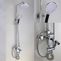 Fine appearance rain shower set faucets,bath faucet mixer,bathroom shower