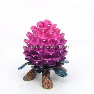 High quality metal gift basket for home decoration QF3852