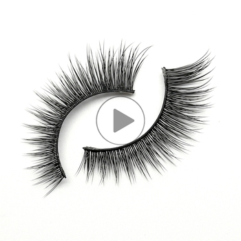 Manufacturing Companies Oem Top Quality Synthetic Eyelashes 3d With Lash Packaging