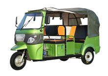 Bajaj Tuk Tuk 3 Wheel Motorcycle With Open Cabin For 6 Passengers / Motorized Tricycle For Sale
