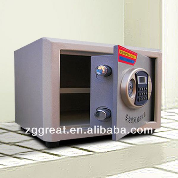 Morden Popular Invisible Drawer Safe Box with Biometric Lock