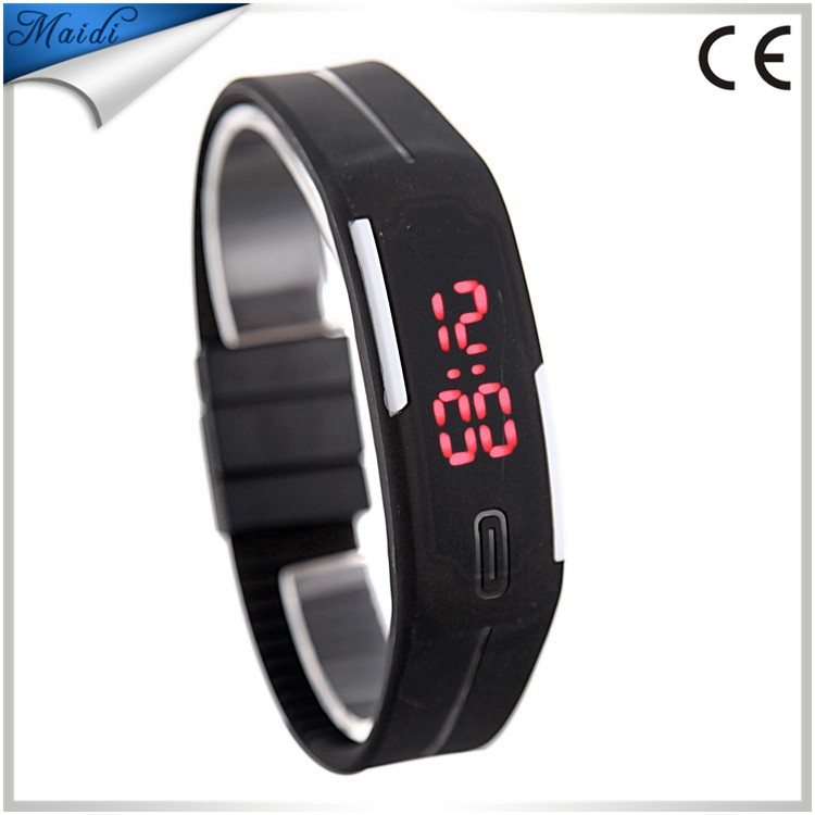 Fashion watch men women LED Digital WristWatch Casual personality Silicone Digital Sport bracelet jewelry watch relogio LMW-1