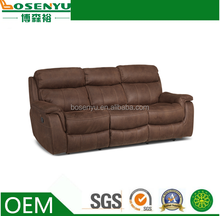 Modern heated leather sofa,headrest cover for leather sofa