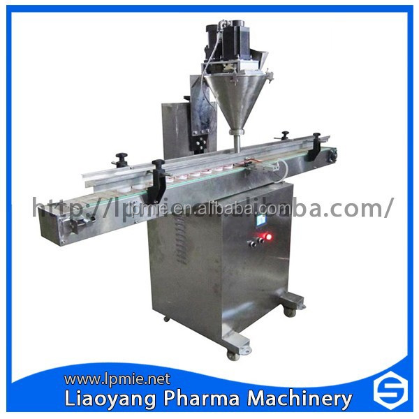 LPA-500 semi auto spice small powder filling machine, bottle filling machine
