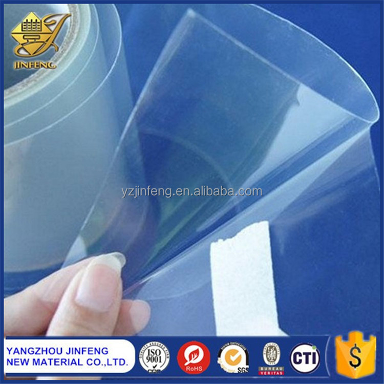 Transparent Gloss Embossed PVC Film for Food Packaging