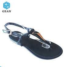 New Fashion Fancy Design Nice Flat Sandals For Ladies Pictures