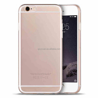 Lowest Price Fast Shippment ! Ultra Clear Brightness Transparent Tpu Mobile Cell Phone Case Cover for iPhone 6 / 6S