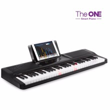 Smart Piano teaches you to play--The ONE Light digital piano China musical instruments keyboard