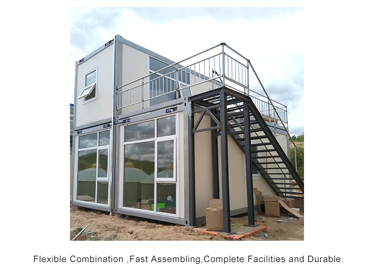 InfiCreation recyclable freight container homes directly sale for carport-4