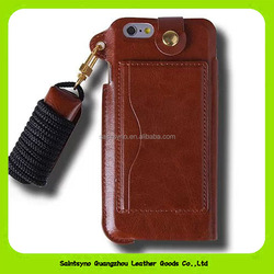 16155 Cheap price luxury leather mobile phone case for IPhone 5s