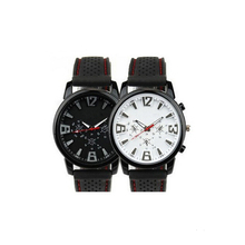 New Design Waterproof Silicone Details Quartz Watch