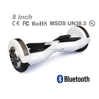 2016 Hot sale New type 8 inch electronic scooter self balance scooter free shipping 250W motor with blue tooth and marquee