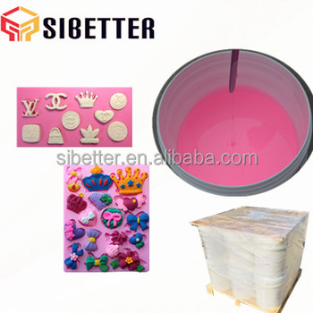 1:1 Raw Material Price Silicone for Wooden Sugar Molds