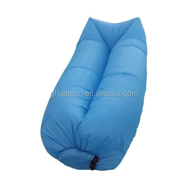 Nylon foldable 210T Air bag laybags for camping outdoor inflatable sofa